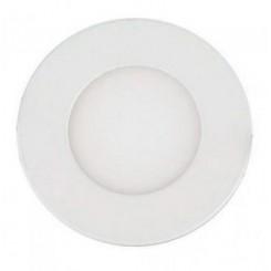 Berge LED panel kruhový 83x83x15 mm, vestavný, 2835, 3W, 230V, 200L, teplá bílá